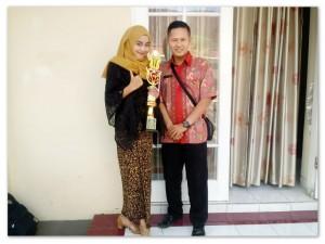 Juara 1 Lomba Solo Vokal Tingkat Cabang Dinas Wilayah 8 Jawa Tengah