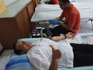 Kegiatan Donor Darah SMK Negeri 1 Magelang