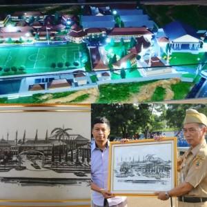 Site & Maket Plan Pembangunan SMK Negeri 1 Magelang