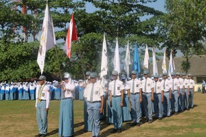 Serah Terima Pengurus Osis SMK Negeri 1 Magelang