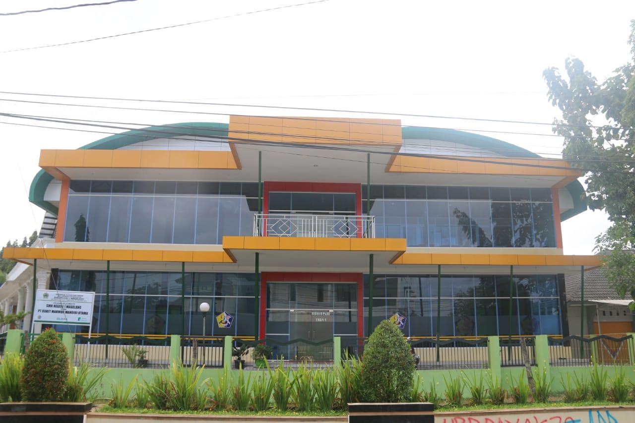 Gedung Techno Park SMK Negeri 1 Magelang