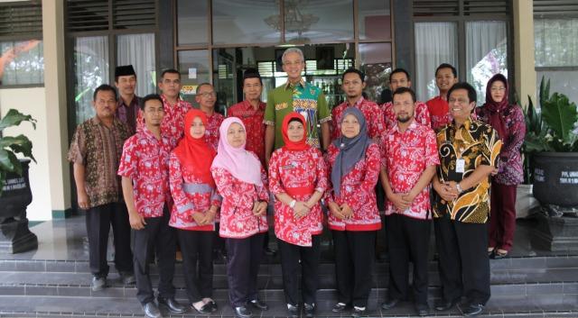 Koordinasi Pembinaan Dan Halal Bihalal Bersama Gubernur Jawa Tengah
